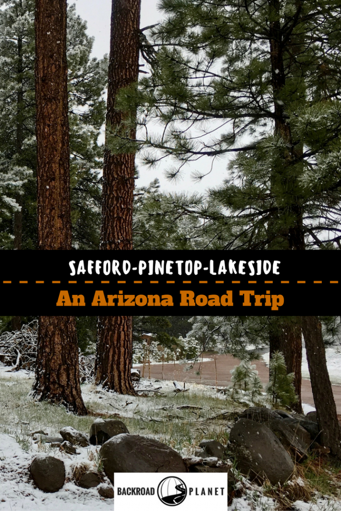 Driving from Safford to Pinetop-Lakeside on an Arizona Road Trip takes us over the Coronado Trail to Morenci Copper Mine, Hannagan Meadow, and Casa Malpaís.