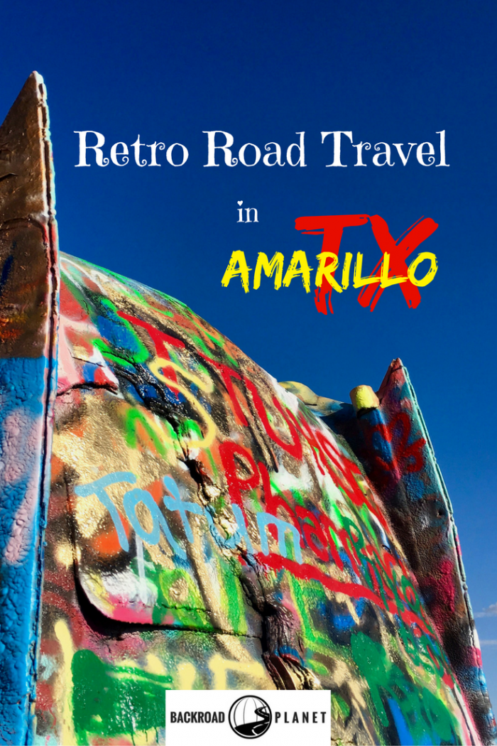 Revisit retro road travel in Amarillo, Texas, on Historic Route 66, at Cadillac Ranch, the Big Texan, Sisemore's RV Museum, and Palo Duro Canyon State Park.