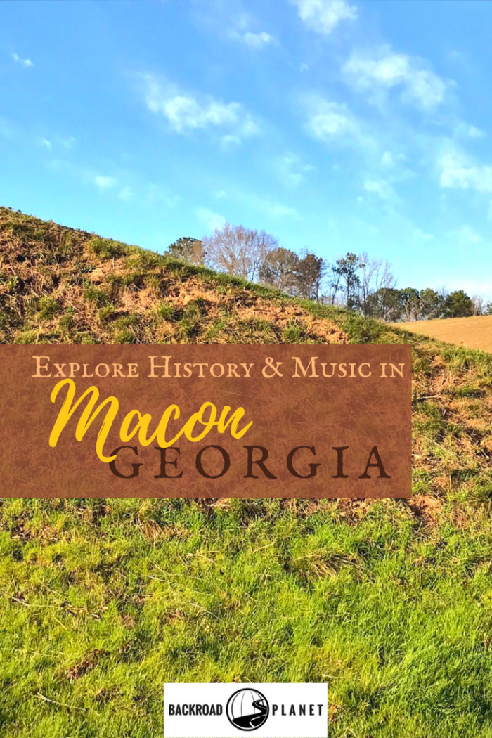 Explore history and music in Macon, Georgia, at Ocmulgee National Monument, the Tubman Museum, Hay House, the Allman Brothers Big House, and Rose Hill.