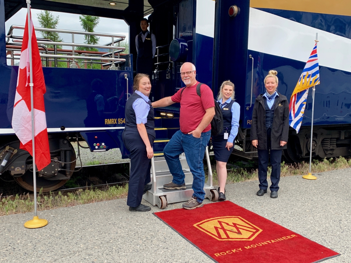 Boarding Rocky Mountaineer Train - All Aboard the Rocky Mountaineer! An Insider's Guide to Your Journey by Rail