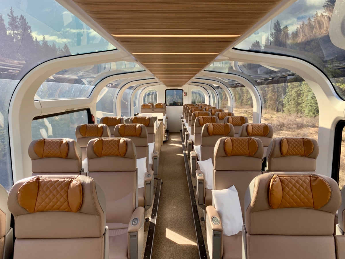 Rocky Mountaineer GoldLeaf Dome - All Aboard the Rocky Mountaineer! An Insider's Guide to Your Journey by Rail