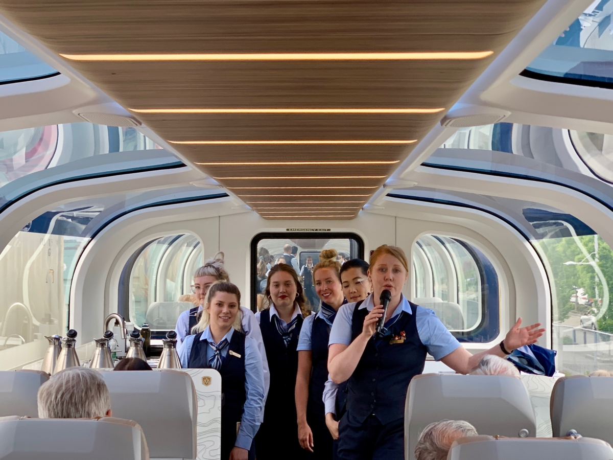 Rocky Mountaineer Train Hosts - All Aboard the Rocky Mountaineer! An Insider's Guide to Your Journey by Rail